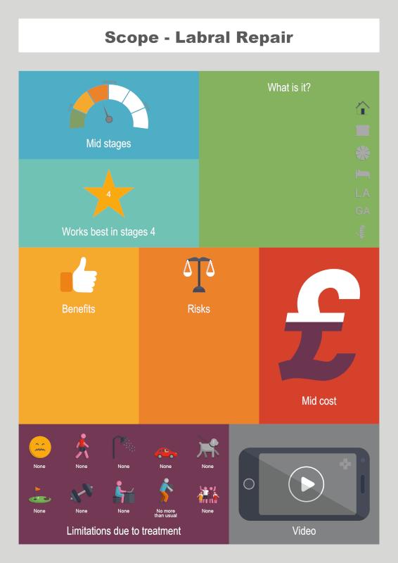 Labral Repair info graphic